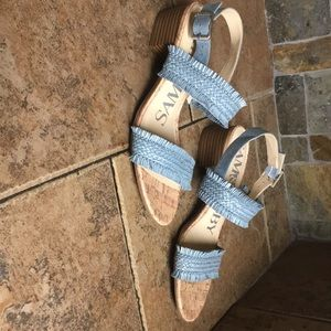 fd1630c8a Sam and Libby low heel sandals with fringe